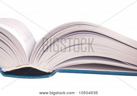 Closeup Shot Of Opened Book