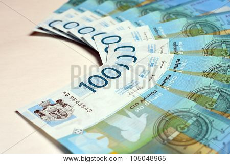 hundred serbian dinars
