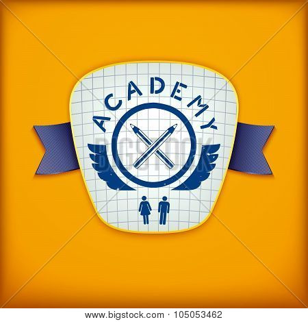 Creative Academy emblem design