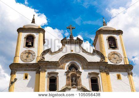 Church of Nossa Senhora da Conceicao in Ouro Preto, Minas Gerais, Brazil
