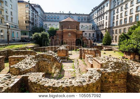 Saint George Church In Sofia, Bulgaria