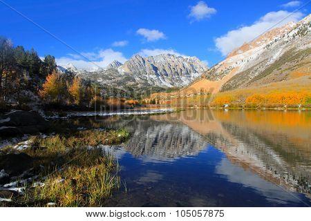 Scenic North lake landscape near Bishop California