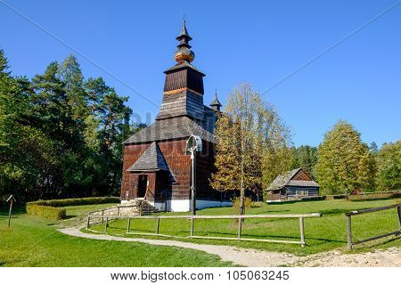 Old Traditional Slovak Wooden Church, Stara Lubovna, Slovakia