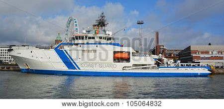 Finnish offshore patrol ship