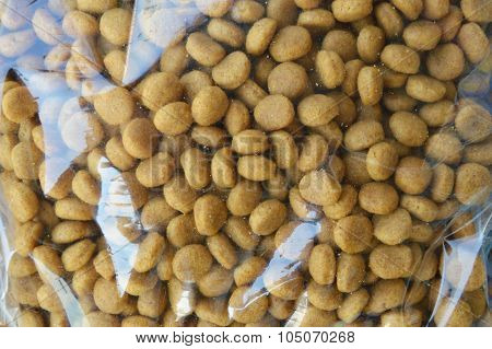 pet food packing in plastic bag for sale