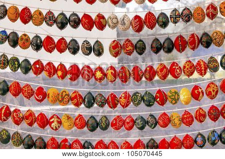 Easter Eggs Saint Sophia Sofia Cathedral Kiev Ukraine