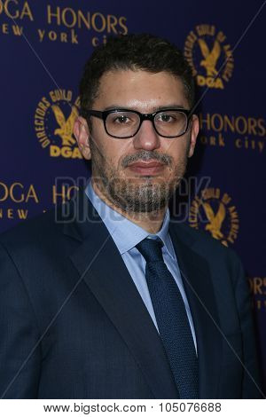 NEW YORK-OCT 15: Director Sam Esmail attends the DGA Honors Gala 2015 at the DGA Theater on October 15, 2015 in New York City.