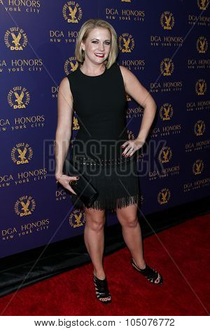 NEW YORK-OCT 15: Actress Melissa Joan Hart attends the DGA Honors Gala 2015 at the DGA Theater on October 15, 2015 in New York City.