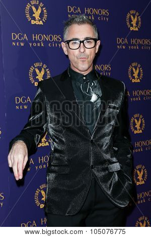 NEW YORK-OCT 15: Actor Alan Cumming attends the DGA Honors Gala 2015 at the DGA Theater on October 15, 2015 in New York City.