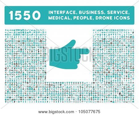 Index Icon and More Interface, Business, Tools, People, Medical, Awards Flat Glyph Icons