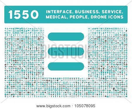 Stack Icon and More Interface, Business, Tools, People, Medical, Awards Flat Glyph Icons