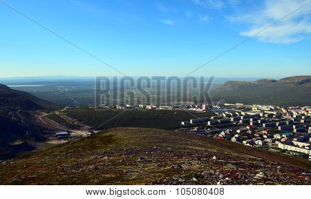 View from Mount Big Wood ...