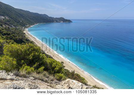 Kokkinos Vrachos Beach, Lefkada, Ionian Islands