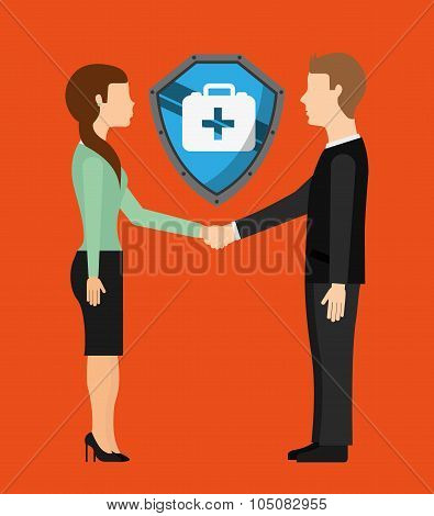 Insurance icon design