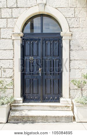 Traditional Old Door From Korcula