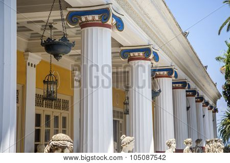 Achilleion Palace At Corfu