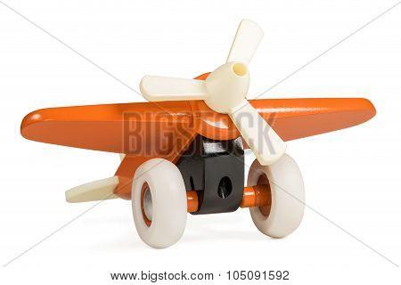 Children orange plane