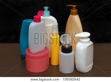 Colorful Toiletries