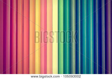 coulour pencils vintage background