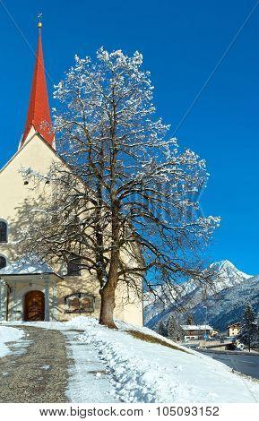 Haselgehr Village (austria, Reutte)