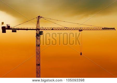 high crnae silhouette