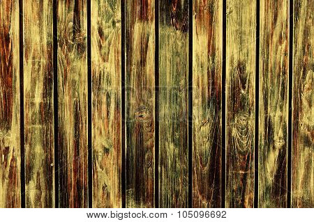 wooden background vertically positioned, old, scratched boards