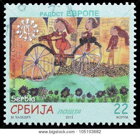 Serbian stamp 2013