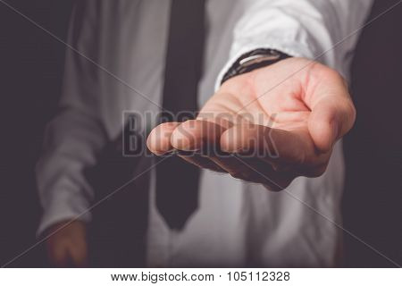 Businessman Requesting For Money Loan