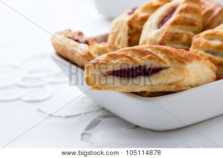 Puff Pastry In Bowl