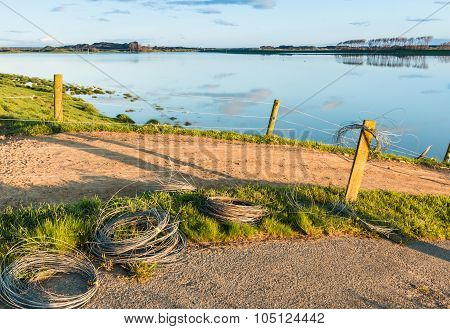 Floodway Fence