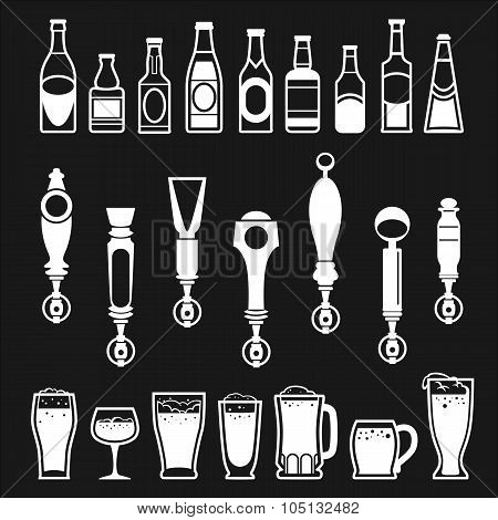 Beer And Bar Icons