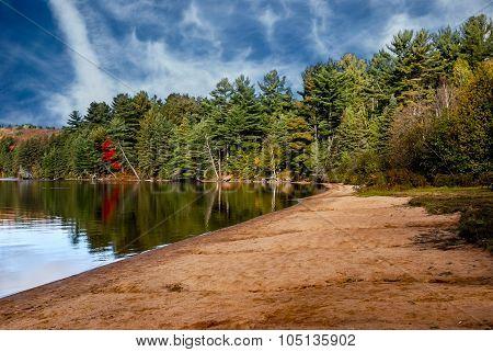 Rock Lake Beach