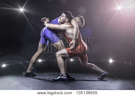 Freestyle wrestling match