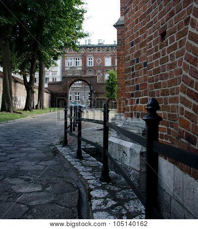 Small Street Behind Corpus Christi Basilica