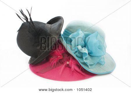 Vintage Hat Stack