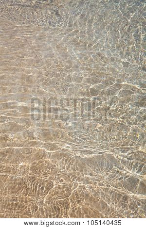 Shallow Water Over Sand