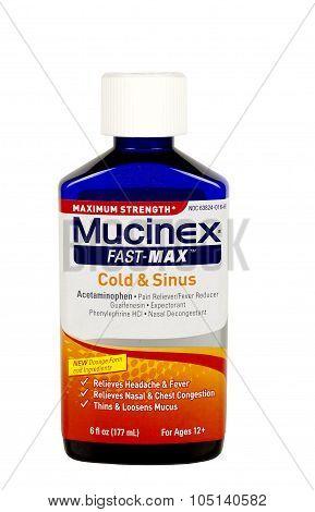Mucinex Cold And Sinus