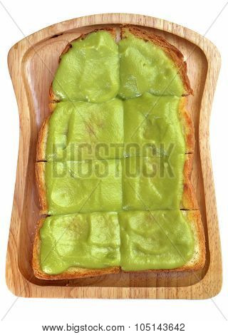 Isolated Toast