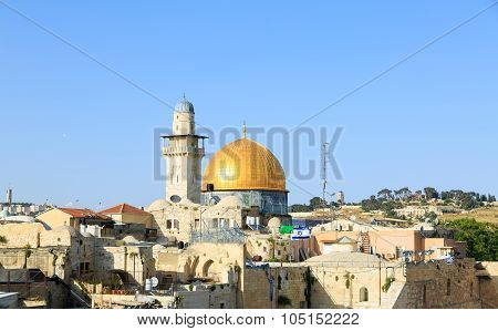 Mosque Of Al-aqsa In Jerusalem