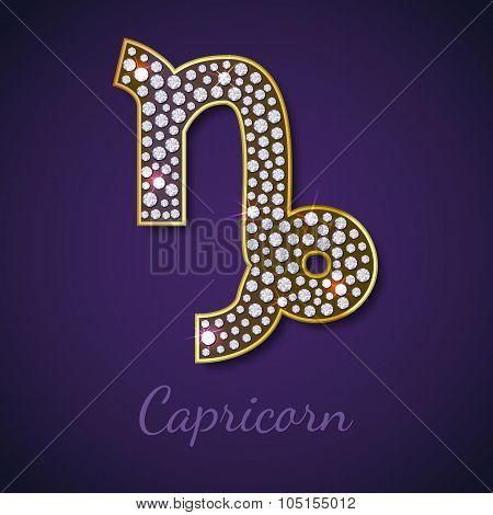 Golden Capricorn zodiac signs