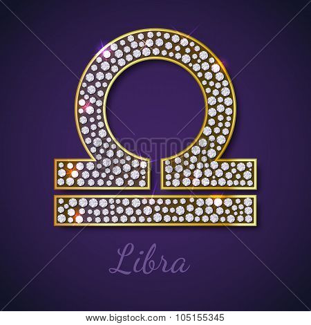 Golden Libra zodiac signs