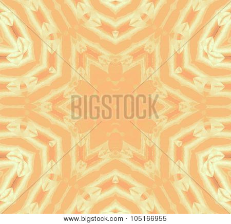 Seamless star pattern brown beige