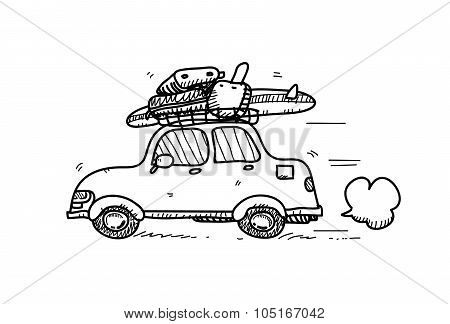 Car Doodle