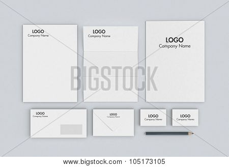 Business Paper Set