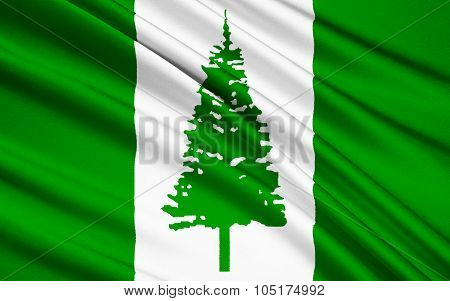 Flag Of Norfolk Island (australia) - Kingston