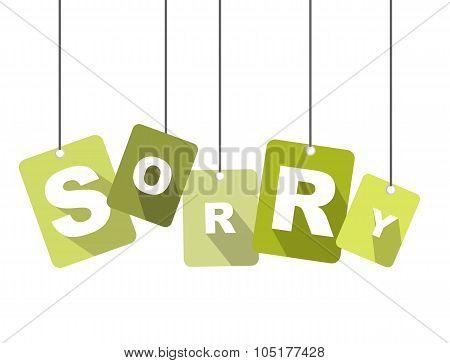 Tag Sorry