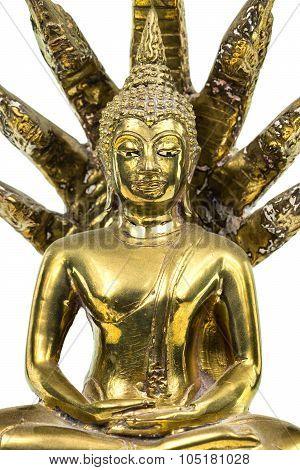 Buddhist Figur Bronze