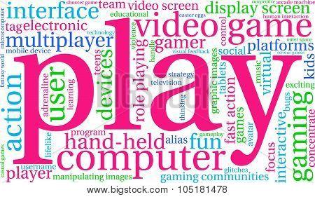 Play Word Cloud