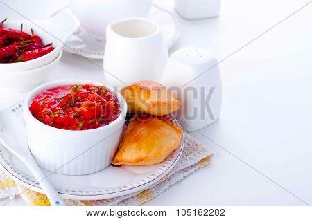 empanada, meat pie