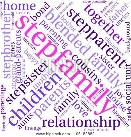 Stepfamily Word Cloud